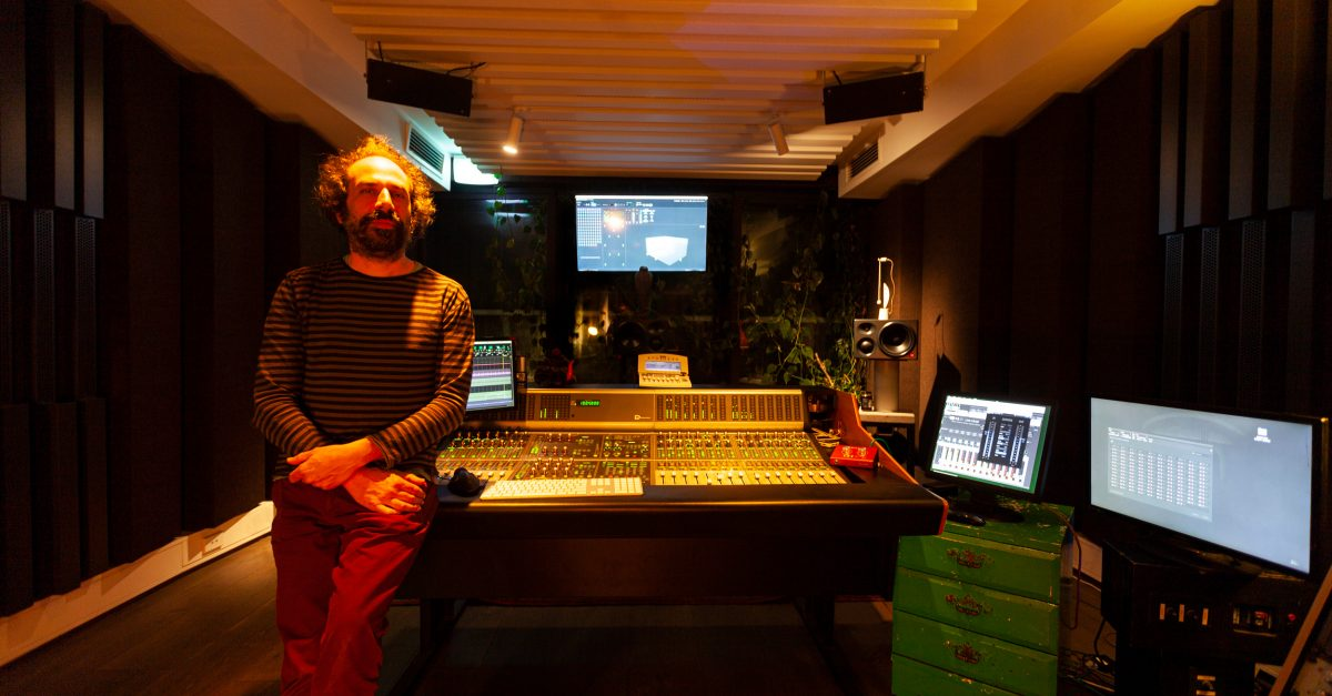 Dodgy Music Studio