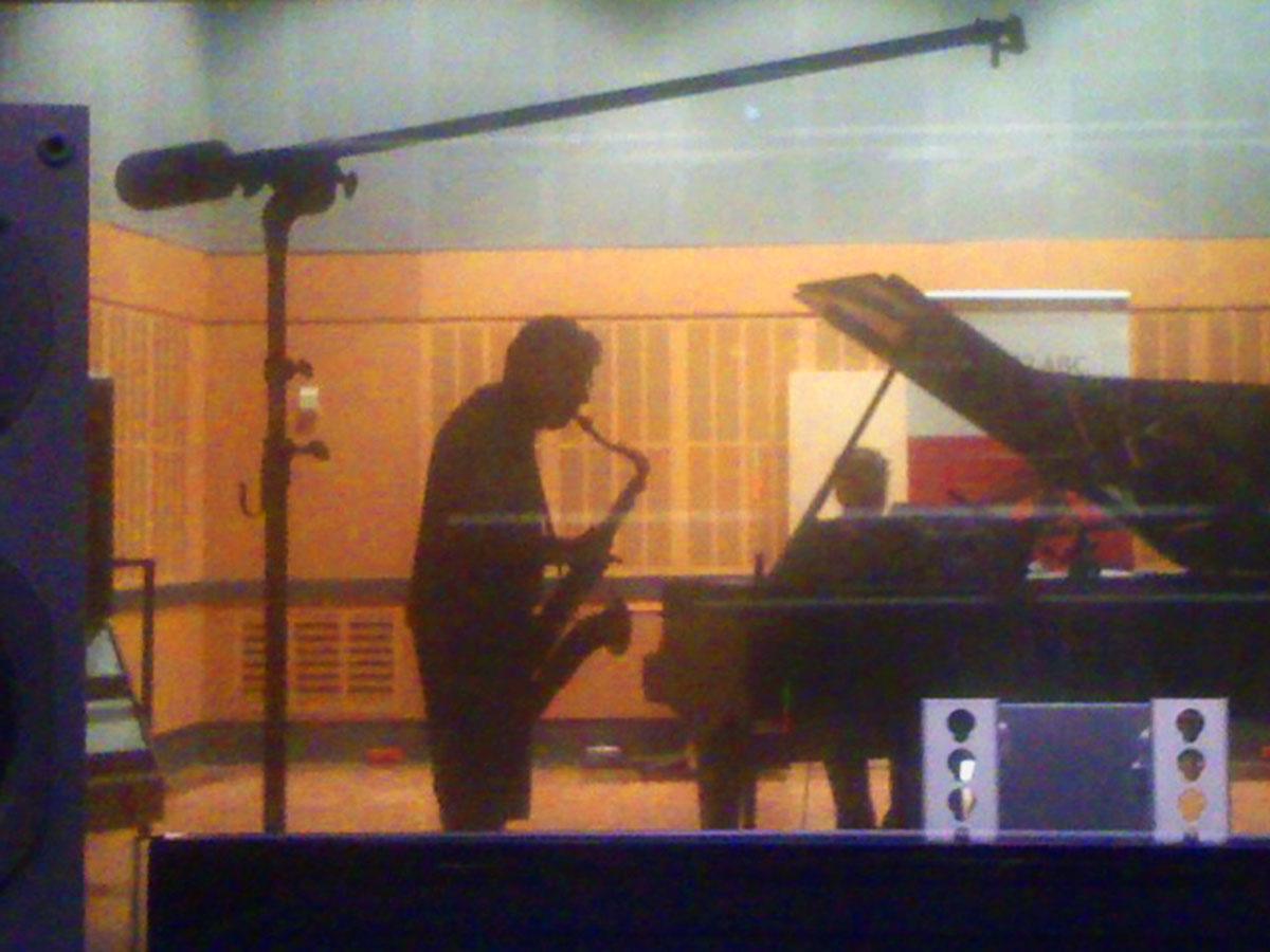 Bob Scott studio recording
